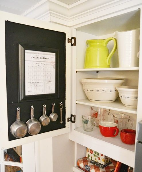 Measuring For Kitchen Cabinets: Kitchen Organization - Measuring Cups