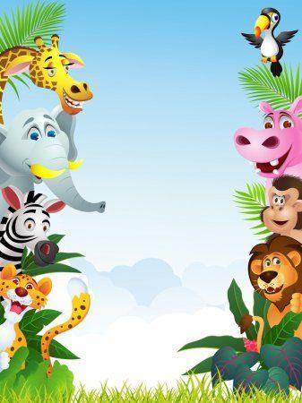Desenhos animados animais