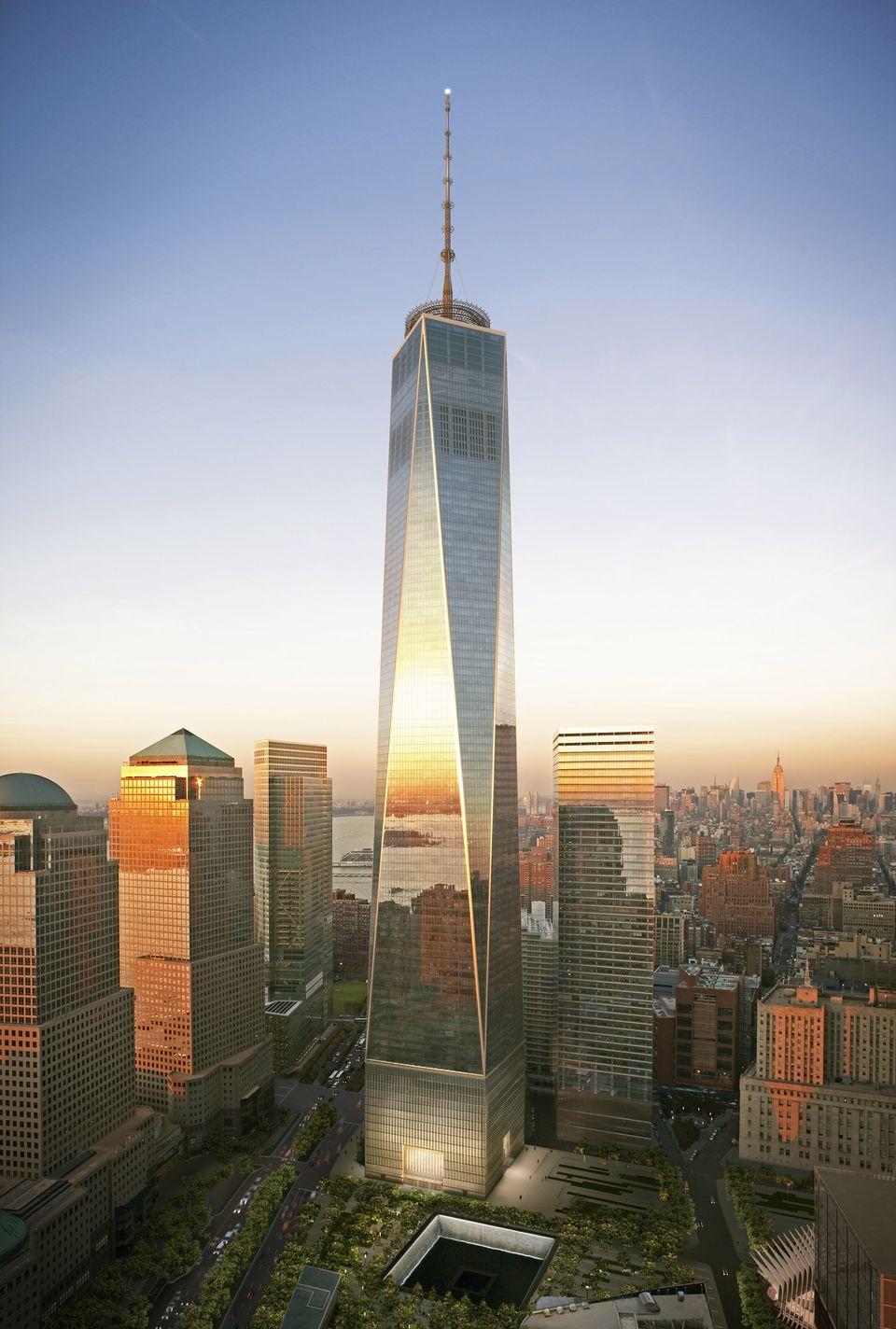 Freedom Tower World Trade Center. Skidmore, Owings U0026 Merrill/ Daniel  Libeskind, David Childs. Height: 541 M