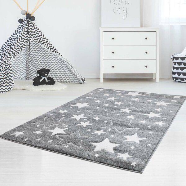 Stars Grey White Rug In 2019 Decorating