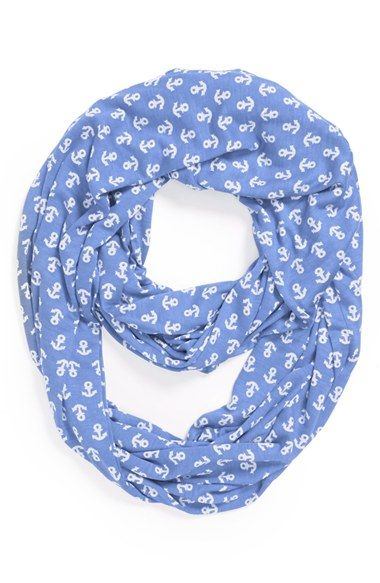 Sperry Top-Sider® 'Anchor' Infinity Scarf available at #Nordstrom