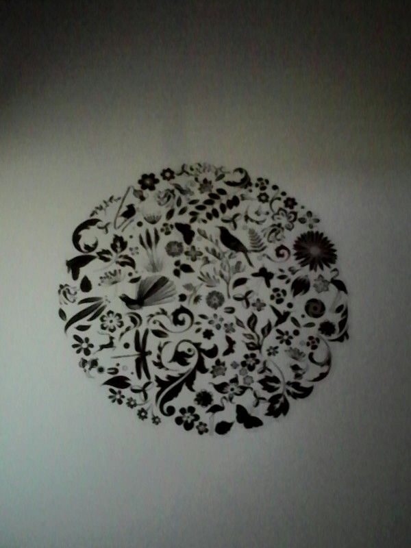 This my new wall feture. It looks awesome close up!