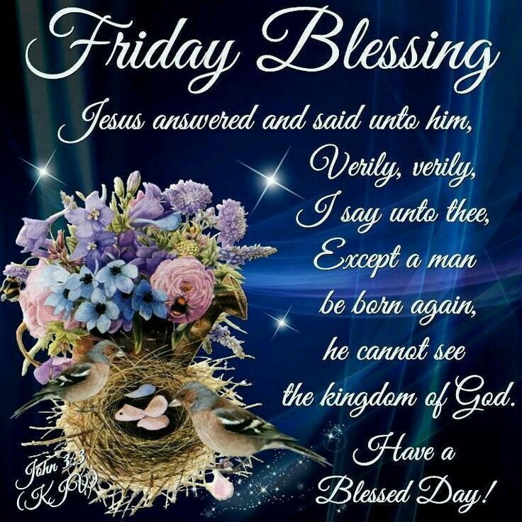 Blessing Quotes Bible: Friday Blessings Facebook