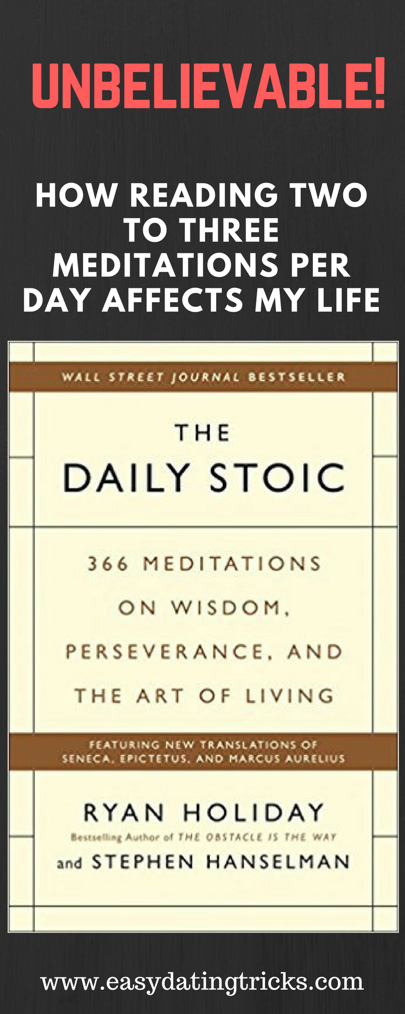 This Is A Really Good Collection Of Quotes From Stoic Philosophers