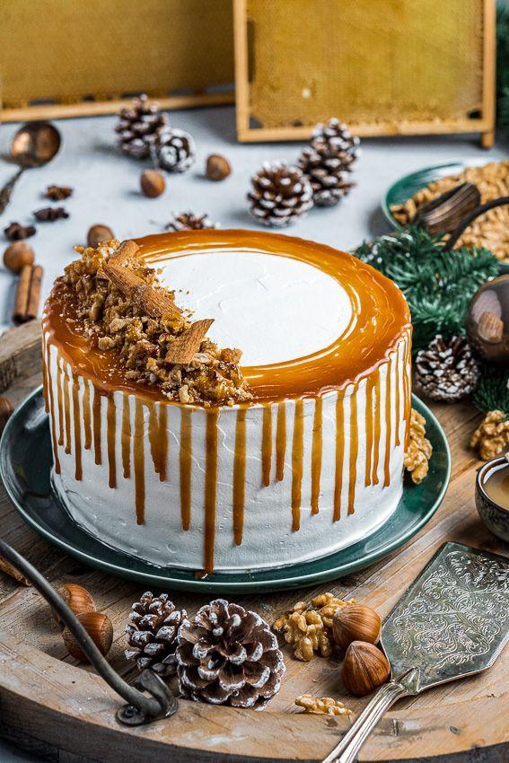 Kindheitserinnerung – Honigtorte mit Milchmädchencreme