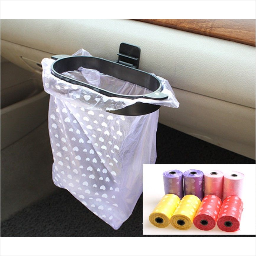 Car Home Refuse Rubbish Bags Trash Hanger Garbage Set Eco Friendly