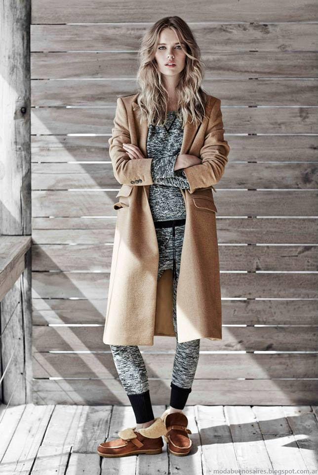 Tapados invierno 2015 ropa de moda Paula Cahen D'Anvers.