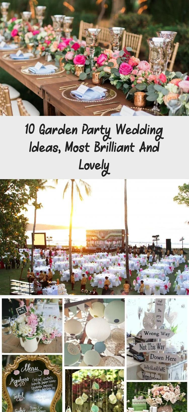 They Danced All Night Long At This Romantic Garden Chic Wedding with regard to Garden Party Wedding Ideas garden wedding dress 10 Garden Party Wedding Ideas Most Brillian...