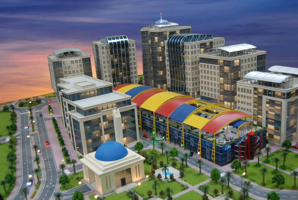Dubai Health Care City, Scale 1200 DHCC with Automated