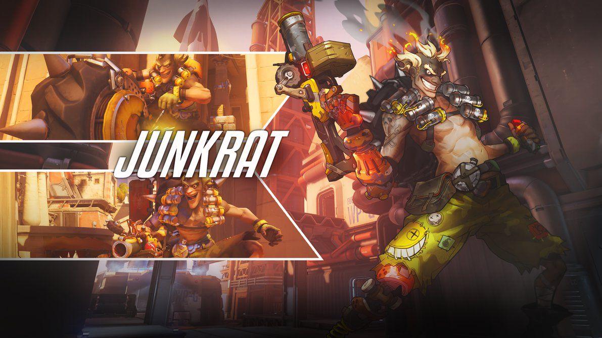 Http Pt Desu Deviantart Com Art Junkrat Wallpaper 2560x1440 579753596 Overwatch Wallpapers Overwatch Overwatch Pharah