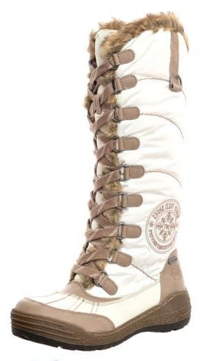Marco Tozzi Lace Up Snow Boot 26214: White | Boots, Snow