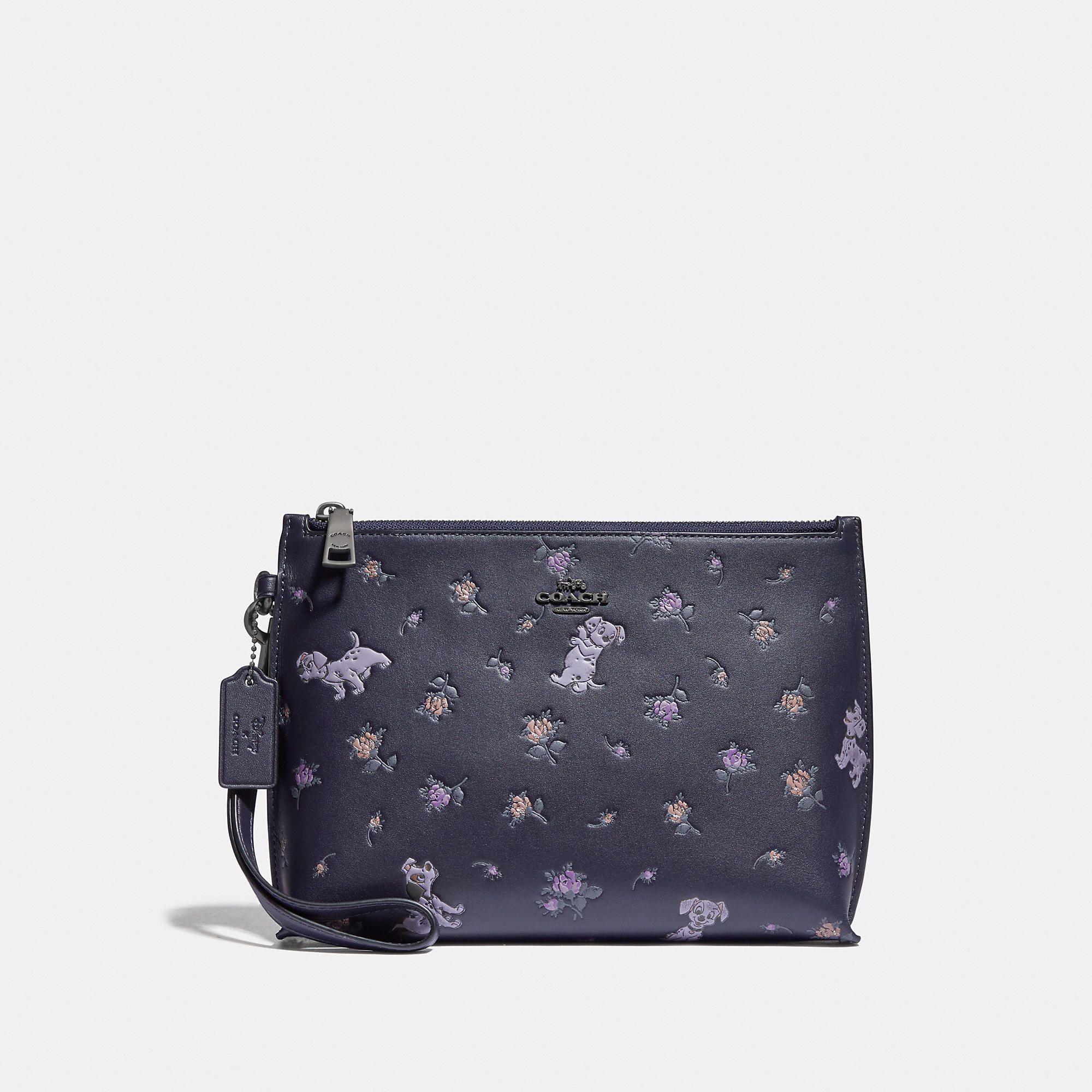 Coach Official Site Designer Handbags Wallets Clothing Menswear Shoes More Pouch Coach Disney Coach