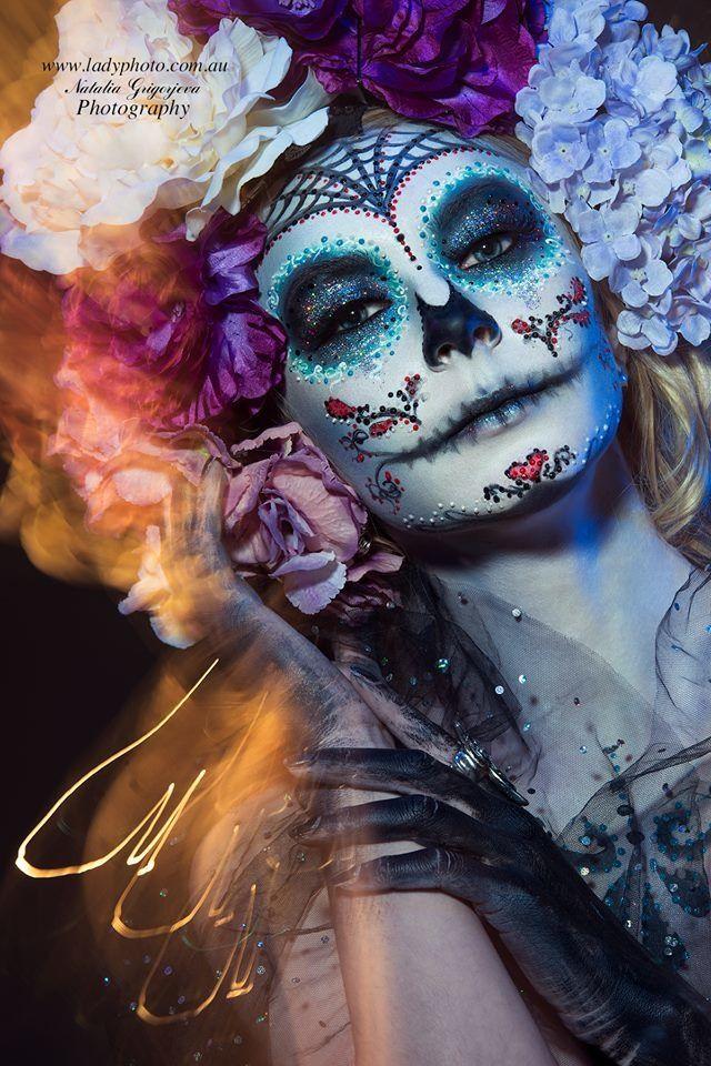 Hair and Makeup Sydney Angie Y Creative Sugar skull