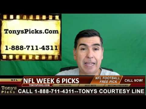 NFL Week 6 Picks Predictions Point Spread Odds Betting Previews