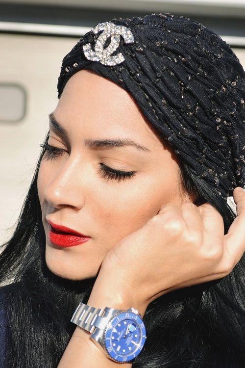 fdfca016 CHANEL Turban Love | CHANEL-IZE MEEE!! | Fashion, Chanel fashion, Turban