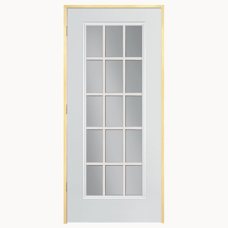 Would Love This Door Shop Reliabilt 32 In X 79 In Inswing Steel Entry Door At Lowes Com Steel Entry Doors Reliabilt Entry Doors