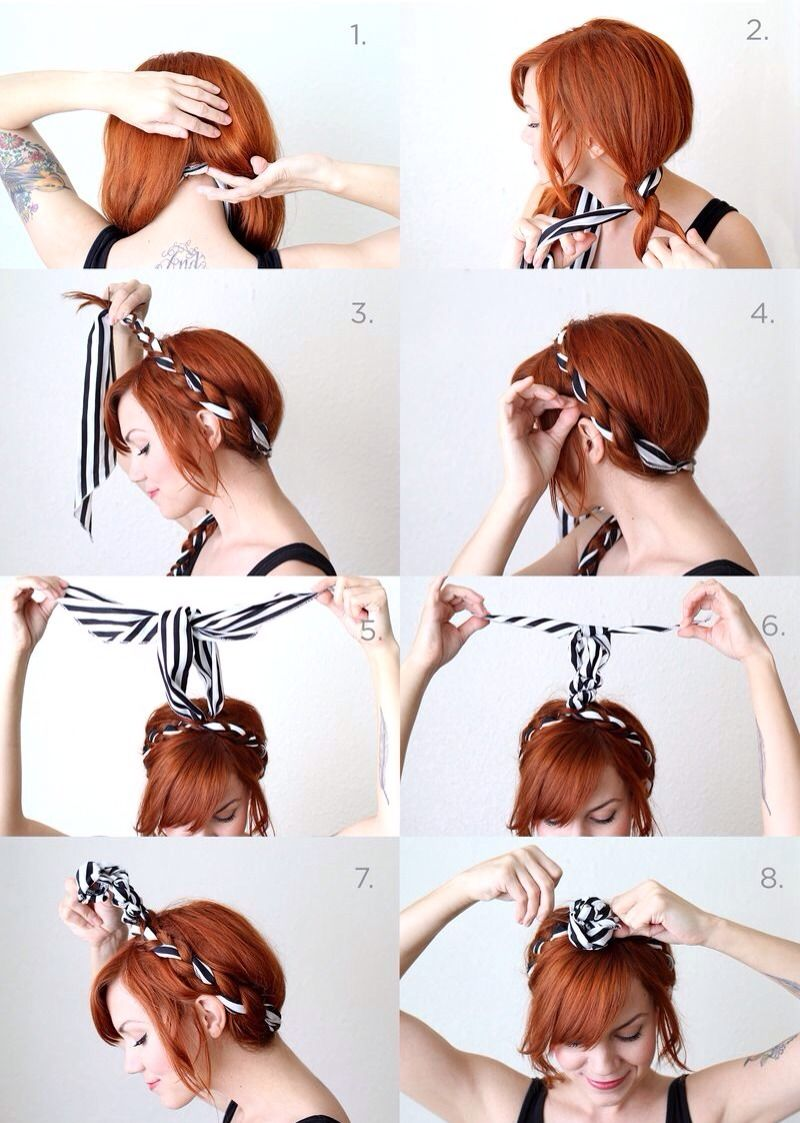 Quick and easy hairstyles hair styles pinterest easy