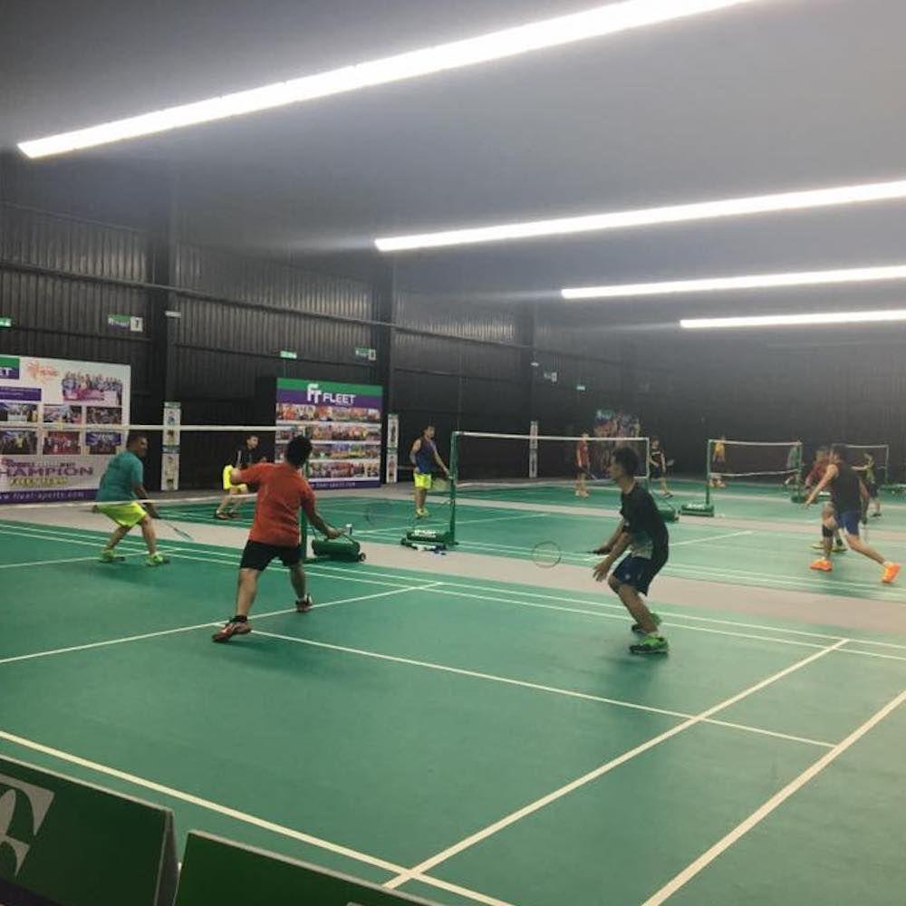 Badminton Court Badminton Court Badminton Johor