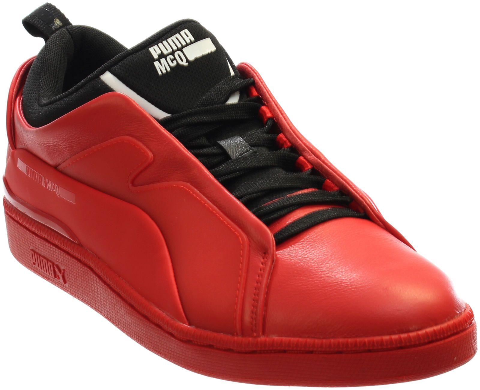 Puma Alexander McQueen Brace Low Sneakers Red Mens