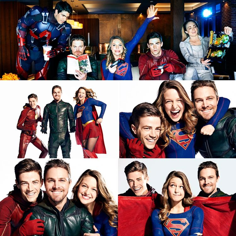 Pics From This Issue Entertainment Weekly The Flash Arrow Supergirl Dc S Legends Of Tomorrow