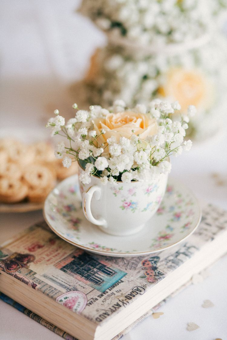 Whimsical Peach Afternoon Tea Party Wedding | Pinterest | Tea party ...
