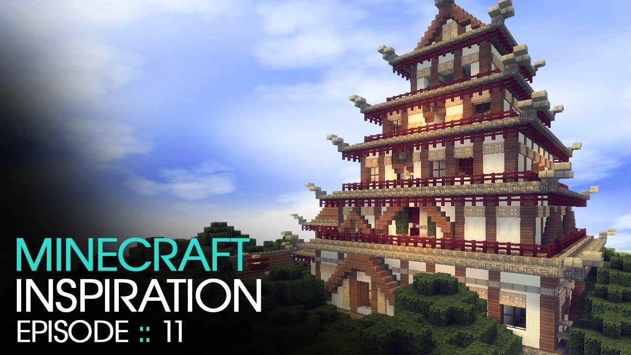 minecraft japanese temple inspiration w keralis - Minecraft Japanese Pagoda