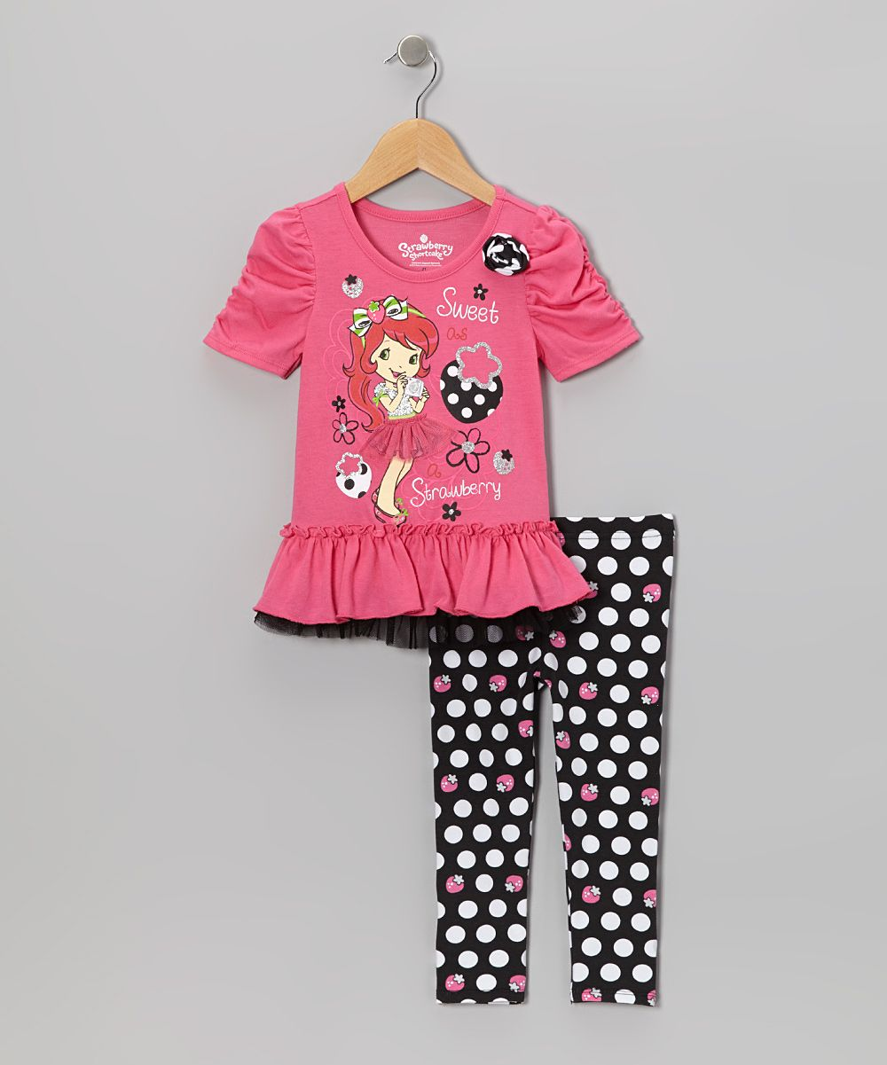 ec4939a3d Pink Strawberry Shortcake Tunic & Leggings - Toddler Starberry Shortcake,  Tunic Leggings, Infant Toddler