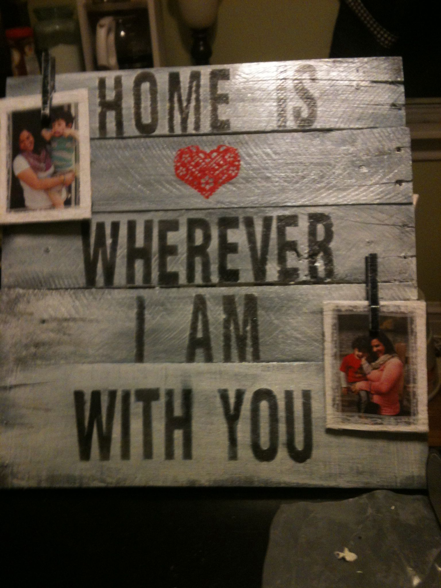 Mother S Day Gift For My Daughter In Law Made From Pallets