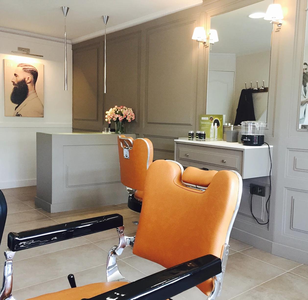 Décoration salon de coiffeur, barbier #barbershop #vintage ...