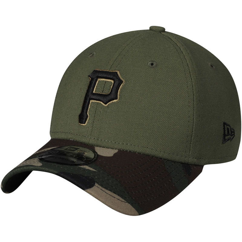 1cb07116 Pittsburgh Pirates New Era Alternate 3 Team Classic 39THIRTY Flex Hat –  Green