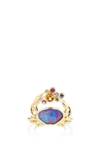 This 18K yellow gold ring by Amsterdam Sauer x Bianca Brandolini