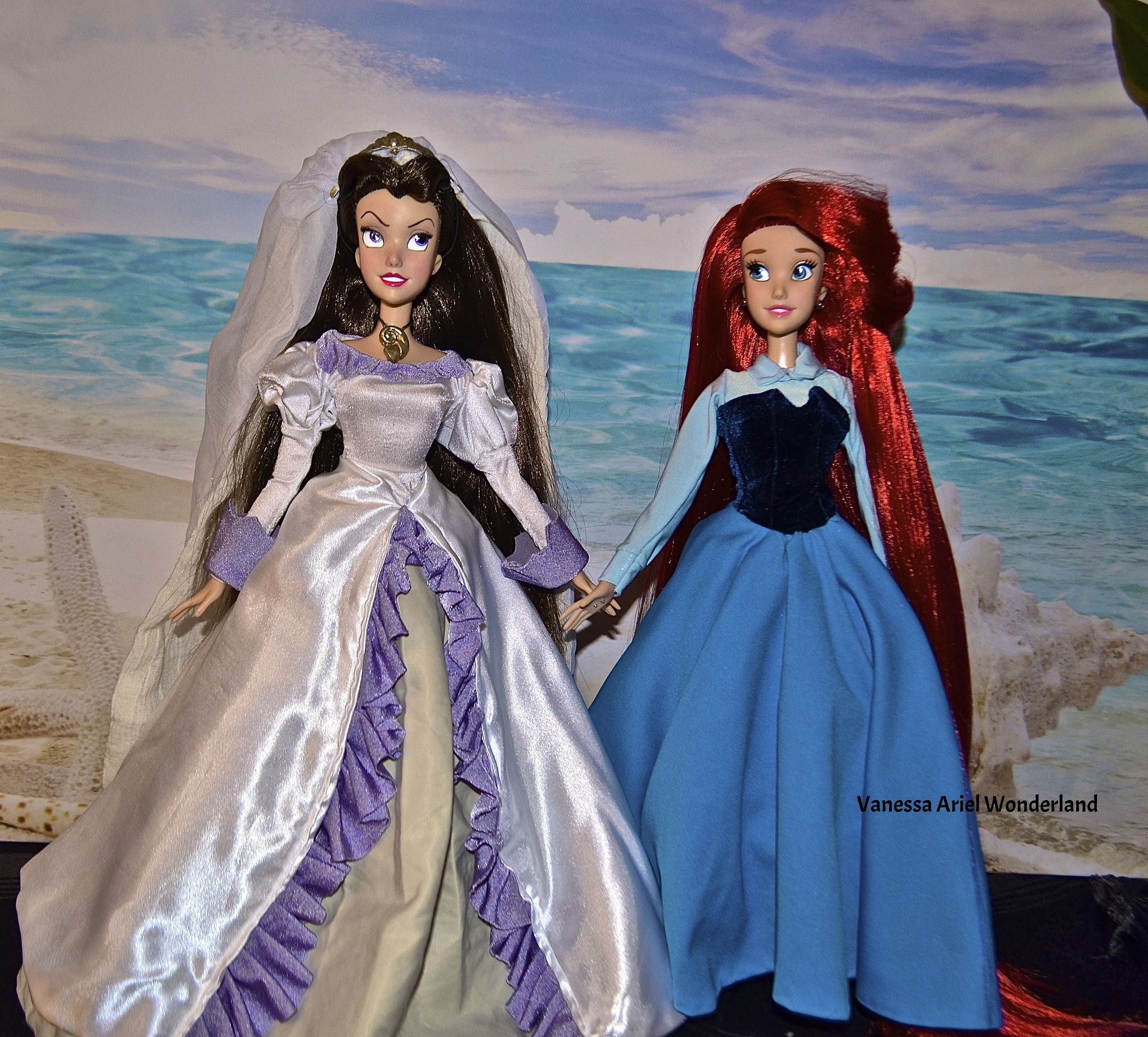 Vanessa Wedding Day Repaint 17 Inches Ariel Kingdom Dress 17 Inches Full Reroot Hair By Vanessa Ariel The Little Mermaid Wedding Dresses Near Me Clearance Wedding Dresses Ariel The Little Mermaid [ 1851 x 2048 Pixel ]