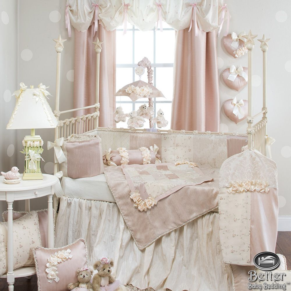 Little Leo S Nursery Fit For A King: Glenna Jean Baby Girl Elegant Chic Vintage Crib Nursery