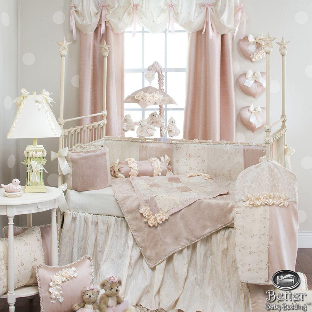 Glenna Jean Baby Girl Elegant Chic Vintage Crib Nursery