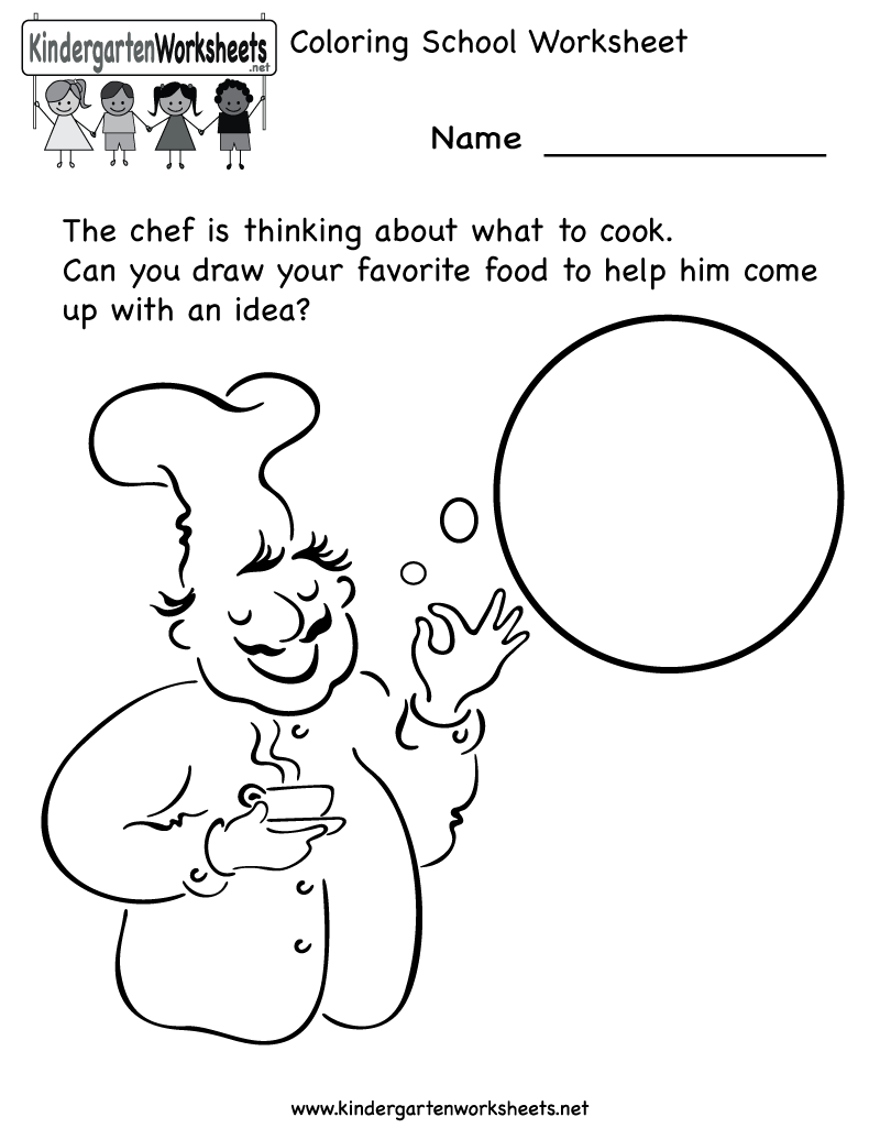 Worksheets Academic Worksheets For Kids kindergarten cooking school worksheet printable worksheets legacy free learning for kids