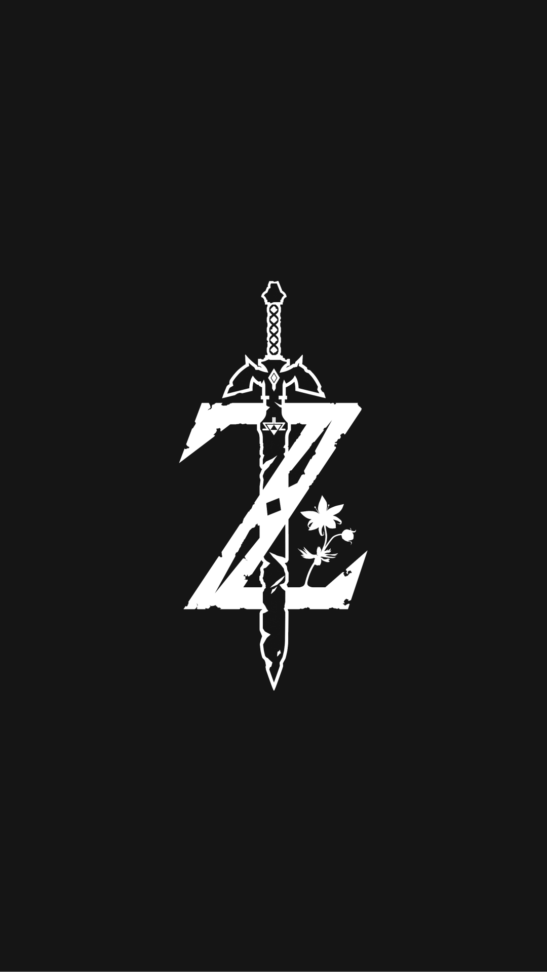 The legend of Zelda logo mark Papel de parede games