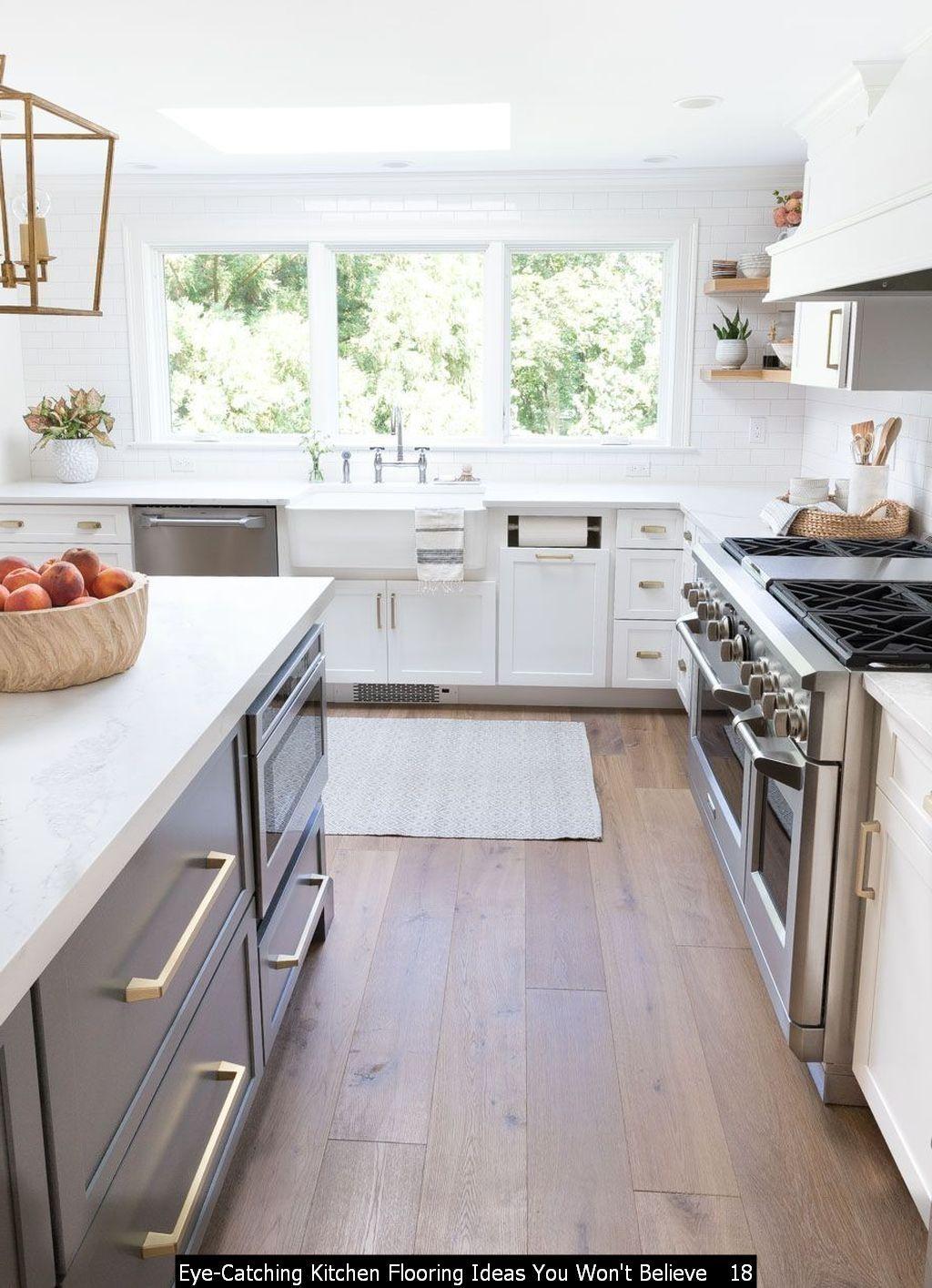 47 Eye Catching Kitchen Flooring Ideas You Won T Believe In