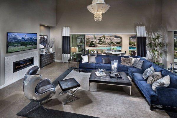 Living Room Ideas: Inspiring Styles Blue Living Room Ideas Royal Blue  Living Room Ideas,
