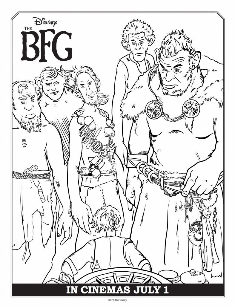 Free The Bfg Coloring Pages Coloring Pages Cool Coloring Pages Free Coloring Pages