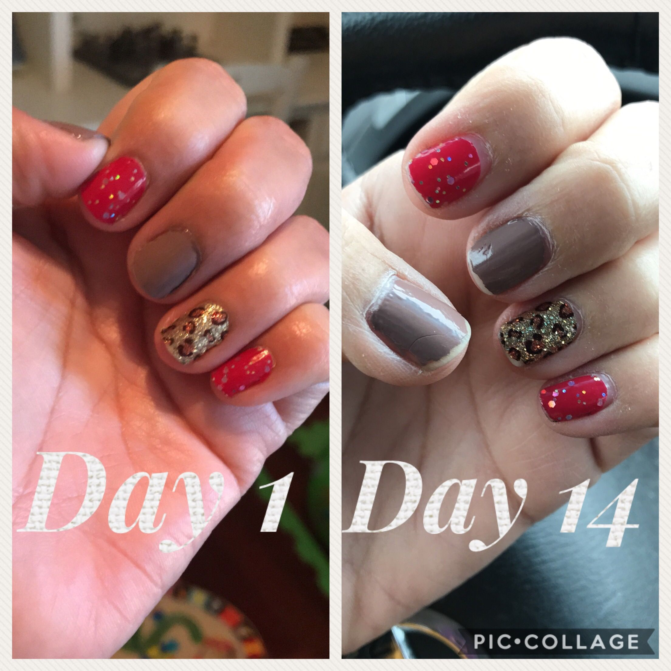Two Week Nail Polish: Color Street With Toddlers Safari Chic Nails T