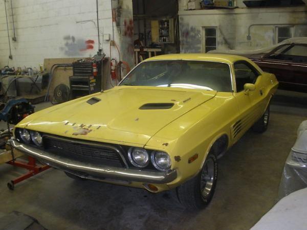 Top Banana 1973 Dodge Challenger Rallye Dodge Challenger Challenger Dodge