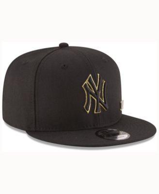1da1f183aae New Era New York Yankees Metal Man 9FIFTY Snapback Cap - Black Adjustable