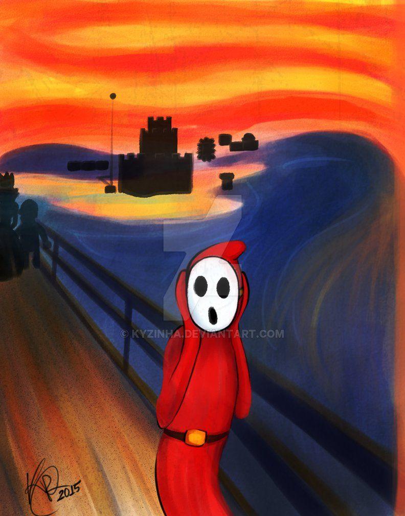 Skrik - Shy Guy by Kyzinha