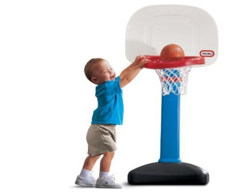 Basketball Easyscore Set Little Tikes Kids Toy Ball Hoop Toddler Rim Adjustable Basketball Academy Outdoor Toys For Toddlers Sports Games For Kids
