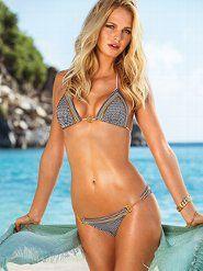 Sexy Bikinis: Bandeau, String, Push-Up & Halter Back Bikini Swimsuits at Victoria's Secret