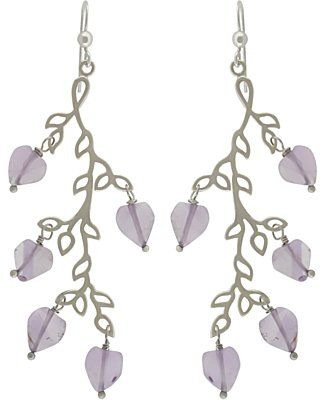 Silver Branch Chandelier Earring are easy to make with earring ...