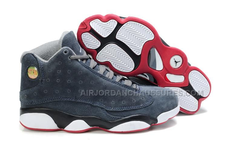 best service 8036c ac2b9 ... code find jordan 13 suede cool grey white red for sale online or in  pumarihanna coupon code cheap air jordan 13 retro white neutral grey  university blue ...