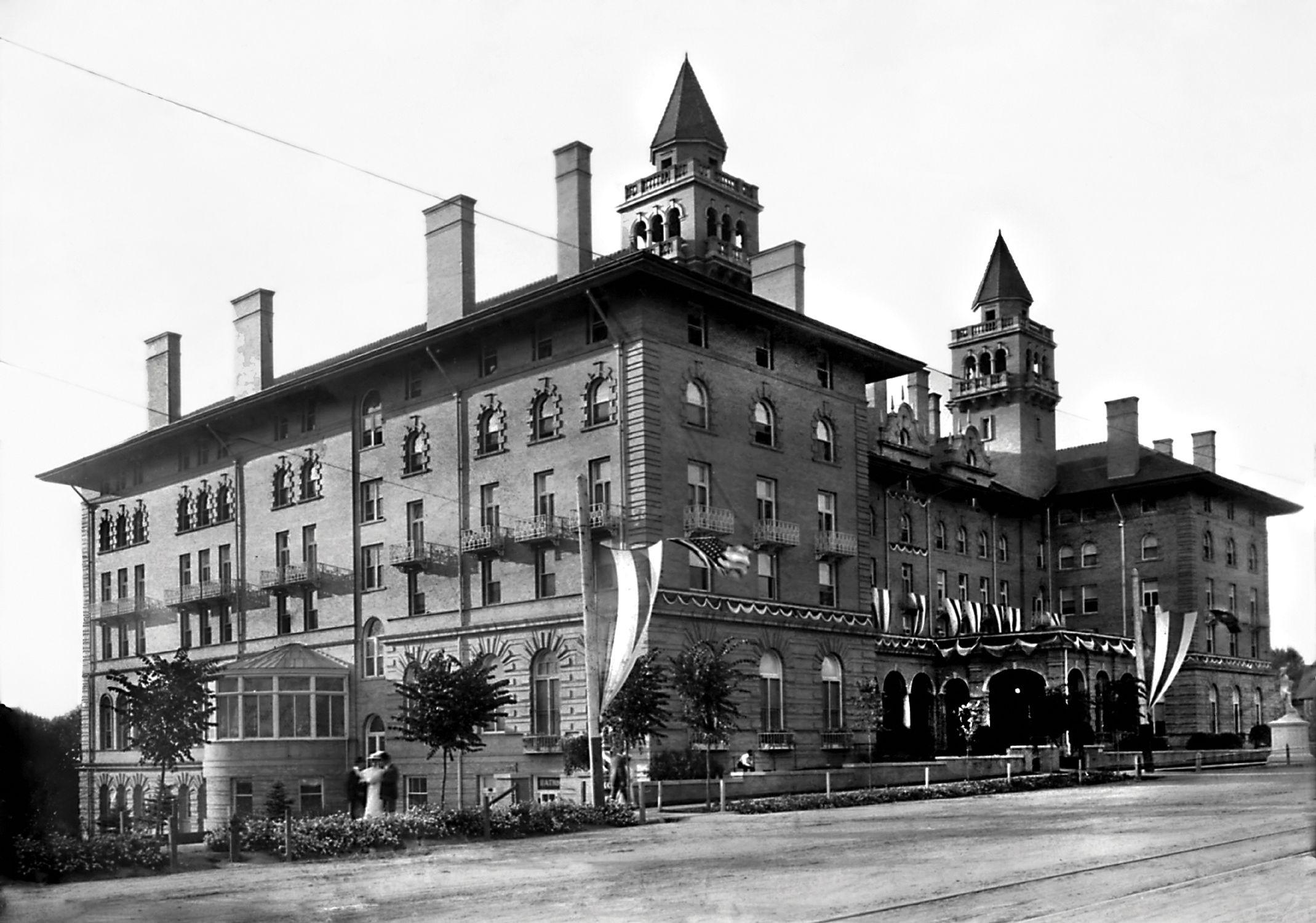 Antlers hotel circa 1902 boulder colorado old photos
