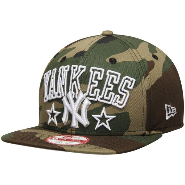 Men s New York Yankees New Era Camo Star Up City 9FIFTY Adjustable ... a99abf8e740