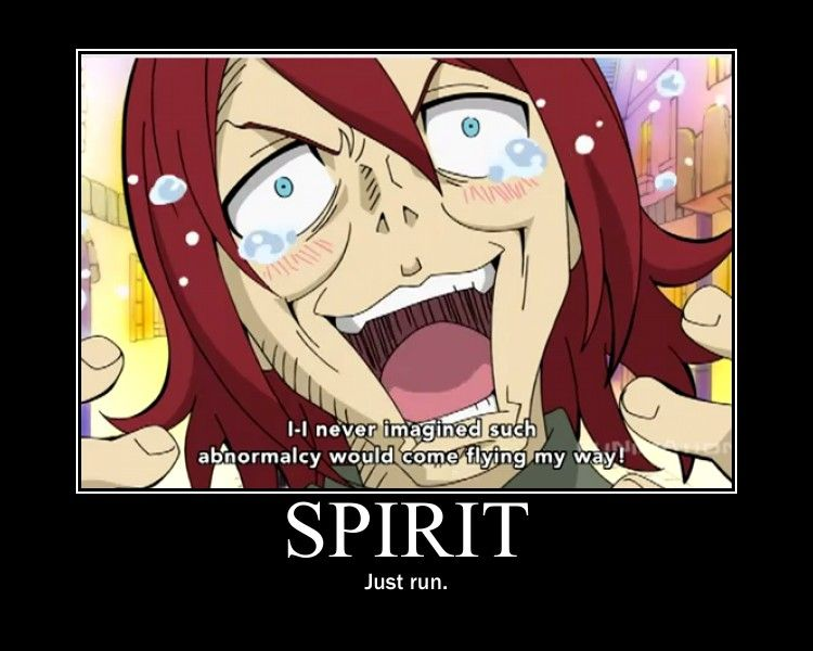Spirit Motivational Poster by Azzie4.deviantart.com on @deviantART -- You ARE the abnormalcy, dude. -_-